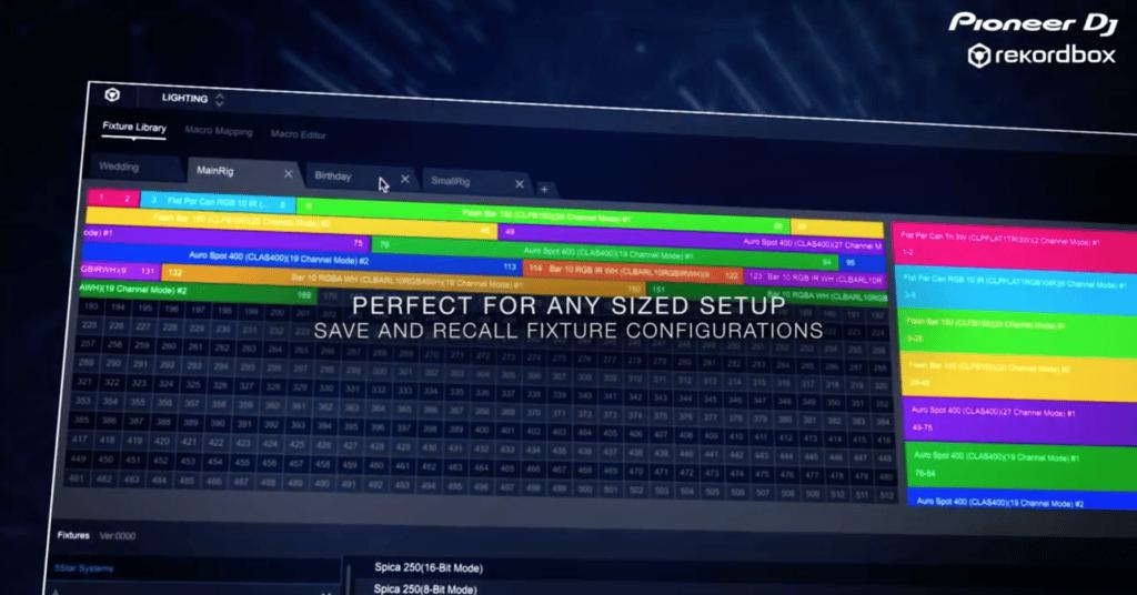 Rekordbox lighting analyse les mélodies